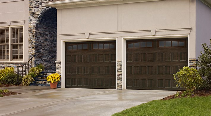 Residential Garage Doors Amarrs Oak Summit Collection