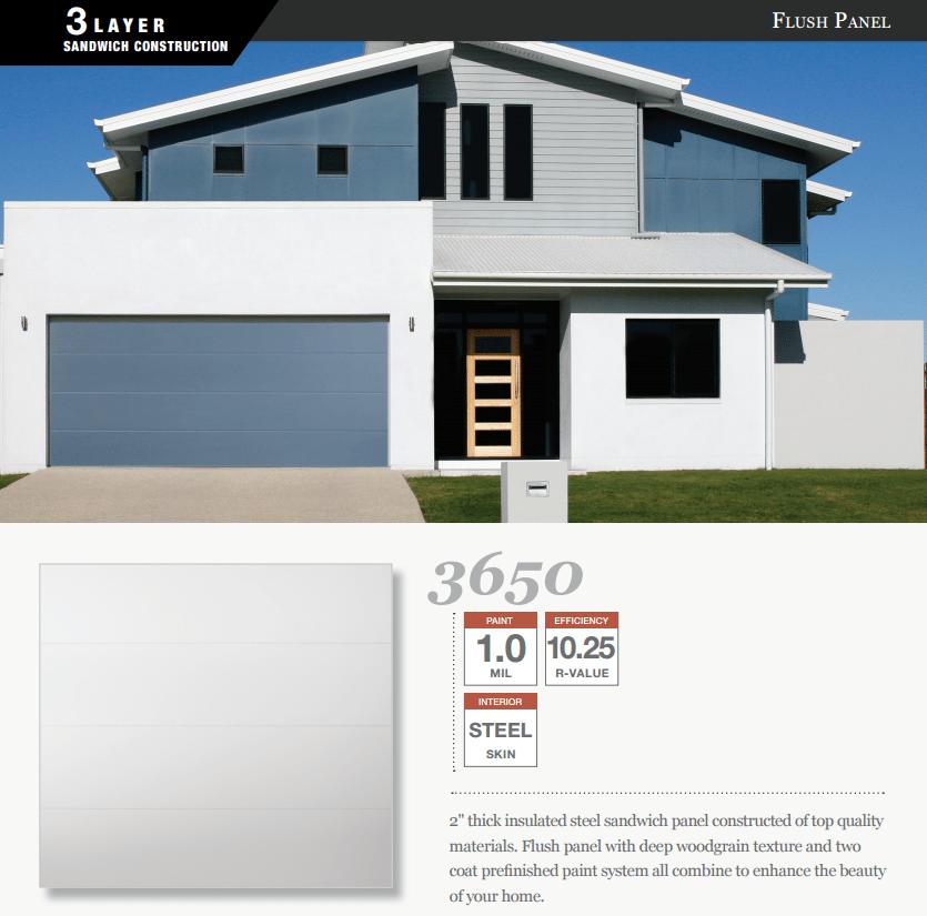 Doorlink 3650 Model Garage Door