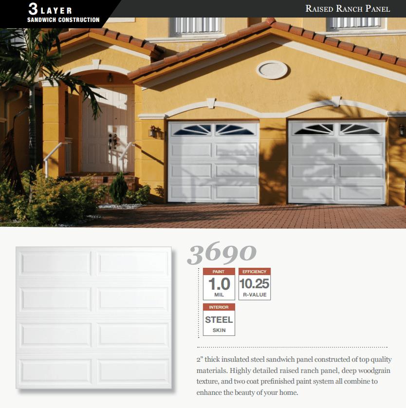 Doorlink 3690 Model Garage Door