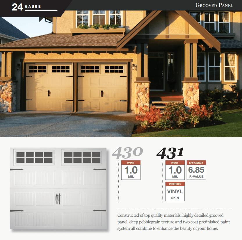 Doorlink 430 431 Model Garage Door