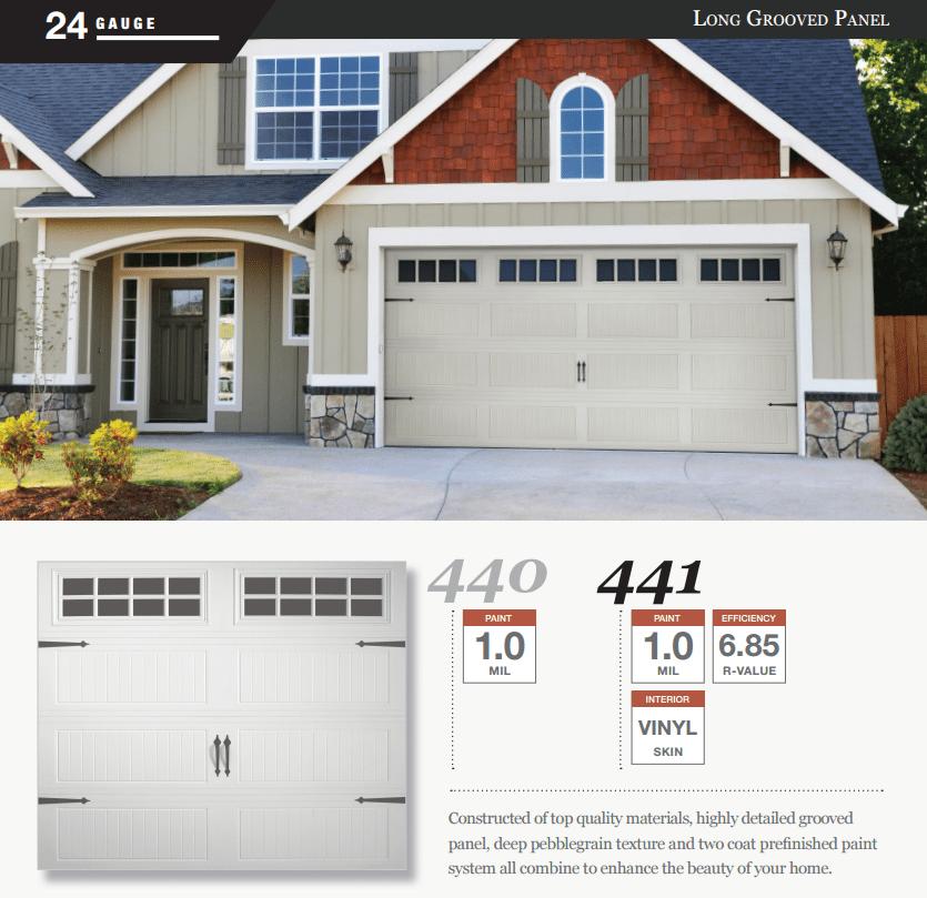 Doorlink 440 441 Model Garage Door