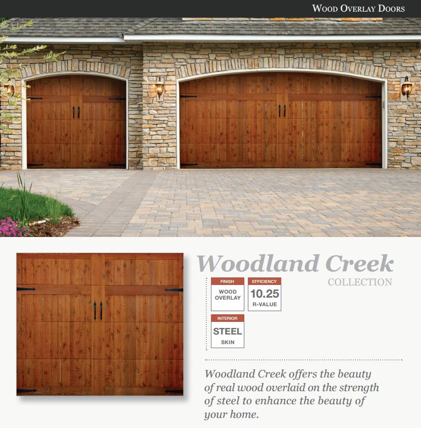 Doorlink Woodland Creek Model Garage Door