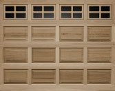 Clopay classic wood 44-raised-panel