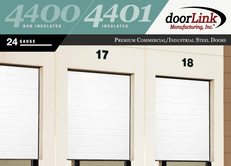 Doorlink 4400 Commercial Garage Door