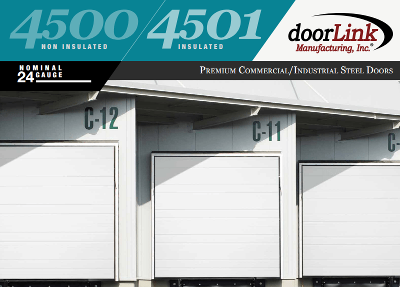Doorlink 4500 Commercial Garage Door