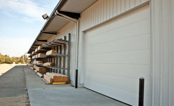 Haas Commercial Garage Doors 2000 Series
